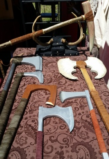 Or perhaps an axe is more to your liking?